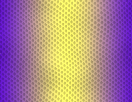 Violet and yellow gradient snake skin seamless pattern, bubble scale Stockfoto