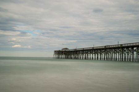 Atlantic Ocean and Pier Imagens