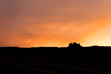 monument valley: Monument Valley Stock Photo