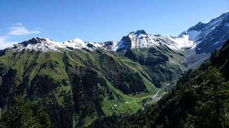 sargans: the Swiss Alps Stock Photo