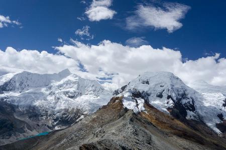 blanca: the Cordillera Blanca in Peru