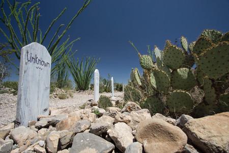 Bothill Graveyard in Tombstone, Arizona Editorial