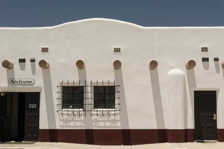 alamogordo: adobe building in Alamogordo