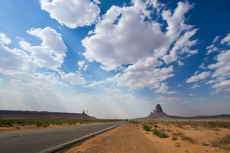 median: entering Monument Valley