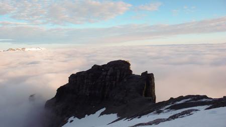 eiger: Eiger west face in Switzerland