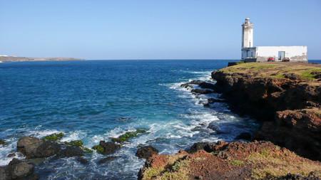 santiago cape verde: Praia lighthouse in Santiago