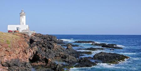 Praia lighthouse in Santiago