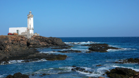 Praia lighthouse in Santiago