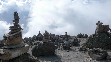 cairns: cairns in Kilimanjaro National Park