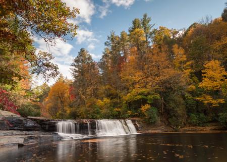 hooker: Hooker Falls in North Carolina