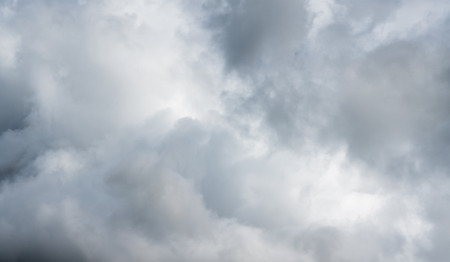 horizontal view of stormy sky and white cloud background 스톡 콘텐츠