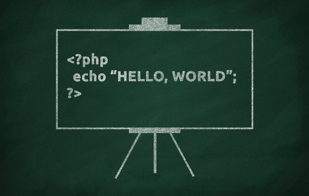 hi end: The first program is written with the newly learned programming language