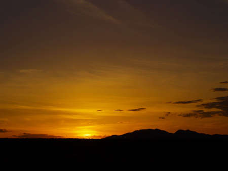 mead: Sunset over mountain  - Lake Mead National Recreation Area - Las Vegas, NV