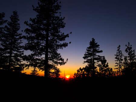 일몰 - 요세미티 국립 공원 - 요세미티, 캘리포니아