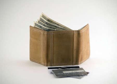 돈이 든 지갑