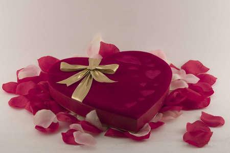 심장 모양의 상자 스톡 콘텐츠