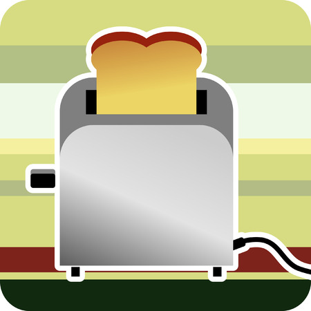 Toaster Illustration