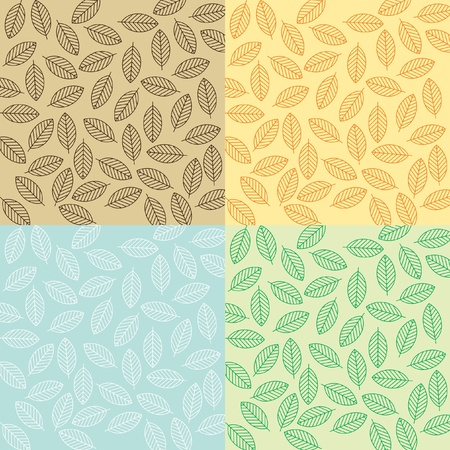 leaf background Stock Vector - 9308119