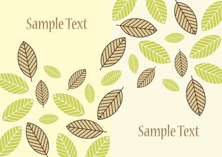 leaf background design