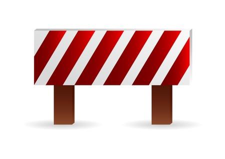 Construction barrier Stock Vector - 9765944
