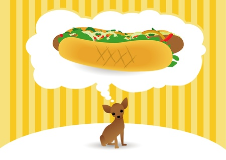 Hot Dog Stock Vector - 9765947