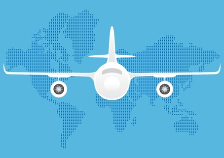 Airplane  Stock Vector - 9867979