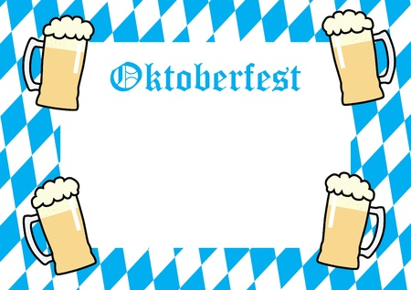 Oktoberfest Background Stock Vector - 9934758