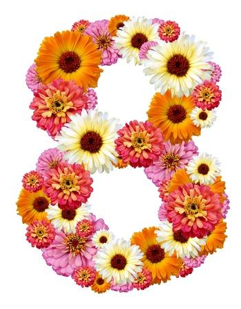 arabic numeral , eight photo