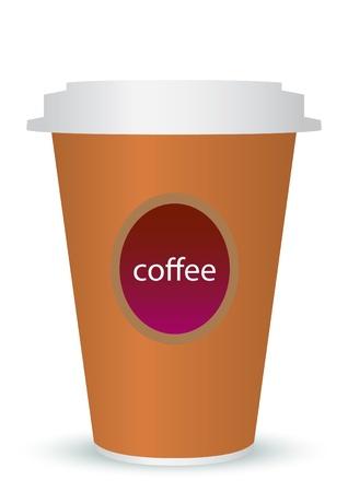 coffee to go Stock Vector - 11059900
