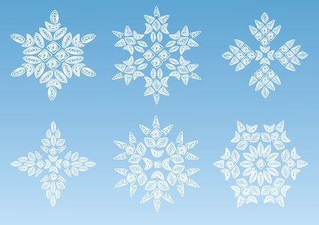 Decorative snowflake.  Stock Vector - 11145344