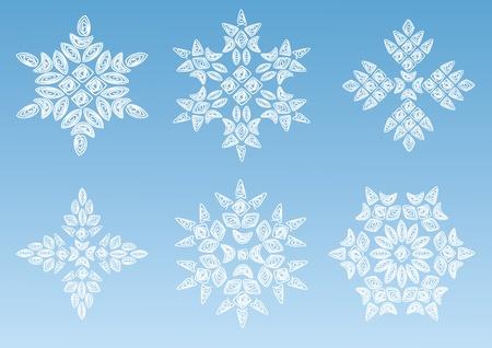 Decorative snowflake. Stock Vector - 11145344