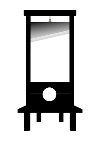 guillotine Stock Vector - 12360832
