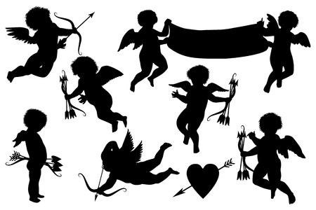 amor: cupids Sammlung Illustration