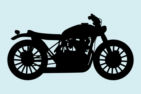 Classic Motorcycle  Stock Vector - 14708972