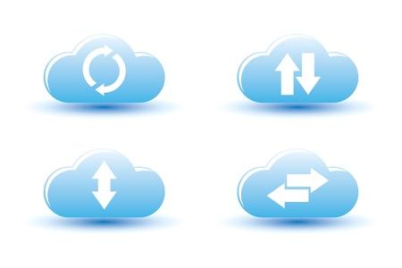 illustration of cloud computing  Stock Vector - 15602751