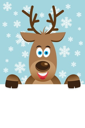 Reindeer Stock Vector - 15623946