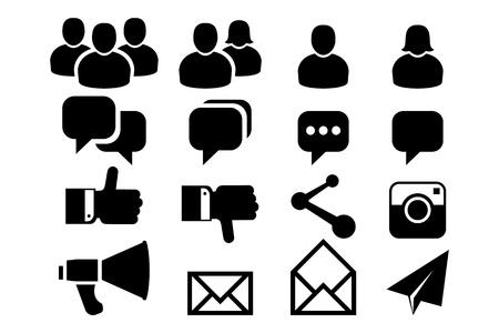 lidé: Blog a ikony Sociální média