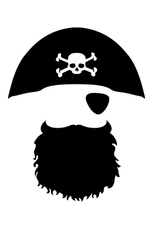 eye patch: Pirate Head