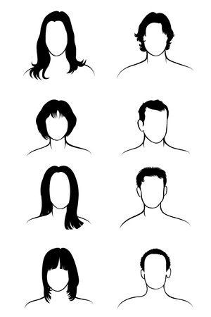 men hairstyle: male and female hair with different styles hairstyles
