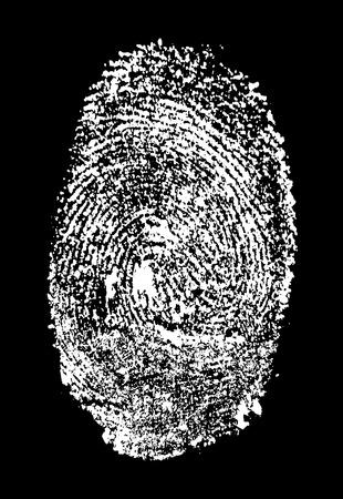 allegory painting:  fingerprint