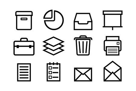 sketched icons: Los iconos de internet bosquejadas Vectores