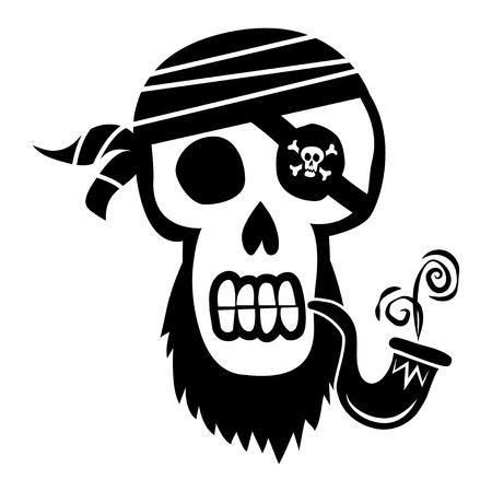 crossbones: Pirate Skull and Crossbones