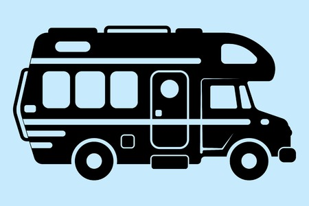 2 190 motorhome stock illustrations cliparts and royalty free rh 123rf com rv camping clipart clipart rv trailers
