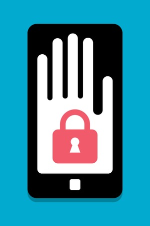 personal data assistant: Smart Phone security concept