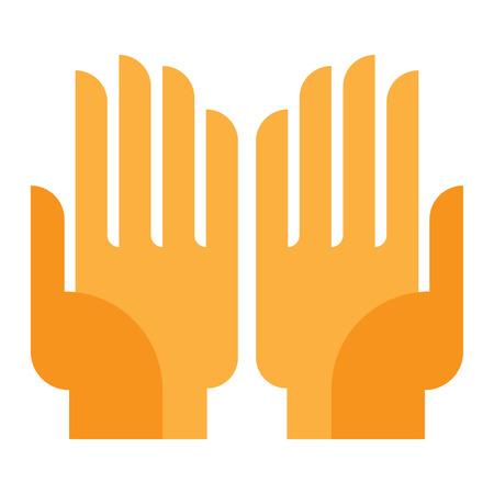avuç: human hand, palm up, something or keep guard