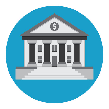 classical greek: Bank building in the style of a classical Greek or Roman temple.
