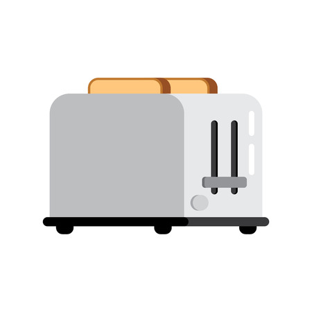 toasted bread: Toasts flying out of toaster isolated on white background. Toaster and bread food breakfast toast. Toaster and bread meal toasted slice appliance. Toaster and bread kitchen healthy brown snack wheat