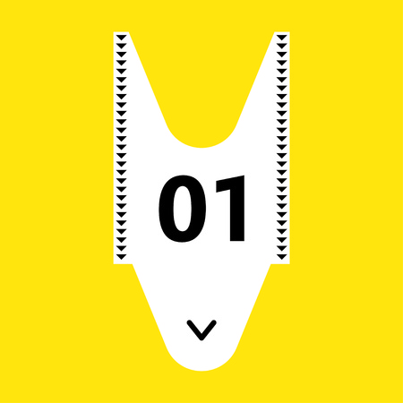 turns: Illustration of a take a number ticket dispenser often used in service lines