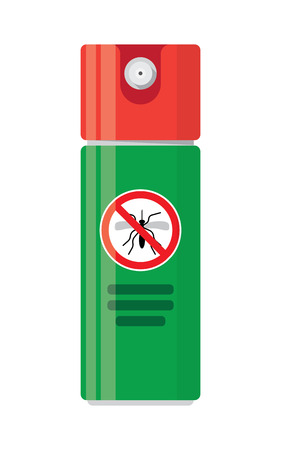 bloodsucker: Repellent spray insect. Mosquito silhouette. Mosquito repellent. Isolated repellent bottle. Self defense. Mosquito spray icon flat.Mosquito spray can vector.Mosquito spray bottle icon. Repellent spray