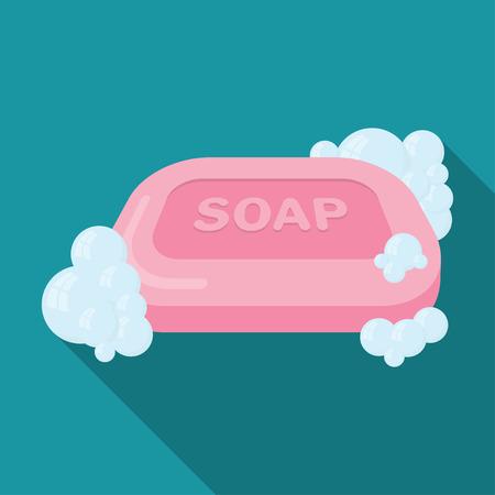Soap flat icon.